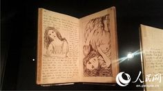 Alice in Wonderland exhibition opens at the British Library to mark 150th anniversary of the publication