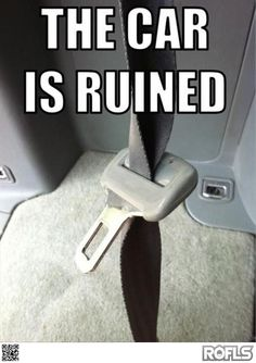 Check out: The car is ruined! One of our funny daily memes selection. We add new funny memes everyday! Bookmark us today and enjoy some slapstick entertainment! Funny Quotes, Funny Memes, Car Memes, Laugh Quotes, Funny Tweets, Funny Commercials, Pet Peeves, Haha Funny, Funny Stuff