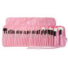Professional 32 Pcs Makeup Brushes Bag Set Kits Make Up MULTIPURPOSE Cosmetics Lipstick Eyeshadow Powder Brushs Bags