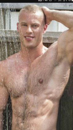 yummy boys in tats showering