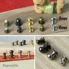 Image result for metal rivets for leather