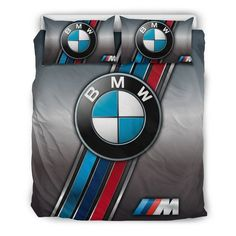 Silver Bedding, Bmw 118, Car Bed, Bmw Love, Car Logos, Quilt Cover, Bed Covers, Carbon Fiber, Bed Sheets