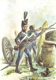 Battle of Bussaco Portuguese Artillery French Revolution, Spain And Portugal, Napoleonic Wars, Military History, Warfare, Portuguese, Army, Costumes, Swords