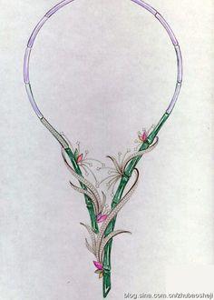 珠宝设计手绘作品分享(二)27P