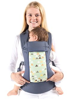 Beco Gemini Baby Carrier | Steps Grey