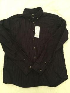 Chemise Oxford bleu marine rayée rouge Uniqlo ! Taille 36 / 8 / S, Blouses & Chemises à seulement 7.00 €. Par ici : http://www.vinted.fr/mode-femmes/blouses-and-chemises/22724178-chemise-oxford-bleu-marine-rayee-rouge.