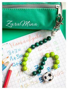 Rechenhilfen - Rechenkette *Fußball* für die Vorschule - ein Designerstück von ZaraMina bei DaWanda