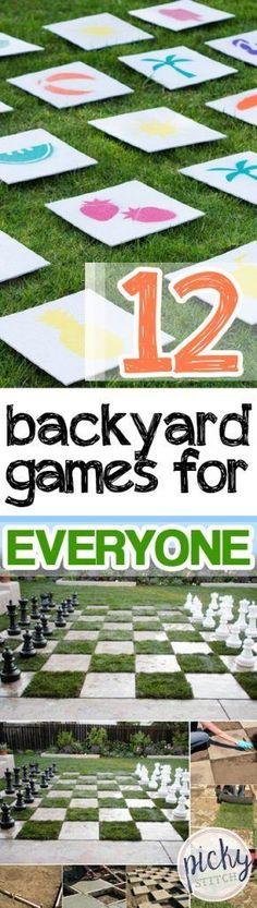 12 Backyard Games for Everyone -