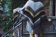 Tea House Wrap Free Crochet Pattern from Two of Wands