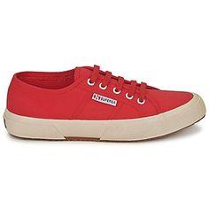 Chaussures Superga 2750 CLASSIC - marque : Superga Chaussures Superga 2750  CLASSIC Rouge Disponible en taille