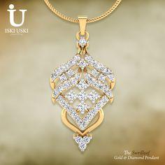 IskiUski offering a #large #collection of #designer #gold and #diamond #pendants!! Shop Now: www.iskiuski.com