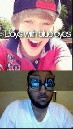 Yugioh Humor [ lol. BLUE EYES WHITE DRAGON! ]
