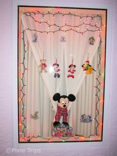 Decorating our resort window makes our trip to Disney that much more personalized :) PixieTripsTravel.com