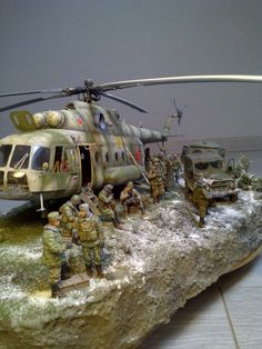 #scale #model #modern #russian #army #diorama #mil #heli