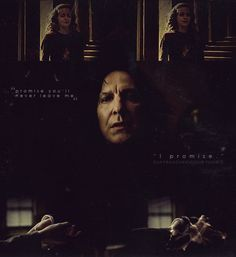 Hermione Granger and Severus Snape | The Unbreakable Vow; Hermione Granger and Severus Snape./resources