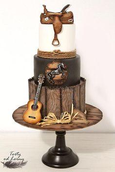 Pleasant 310 Best Western Cakes Images In 2020 Western Cakes Cupcake Funny Birthday Cards Online Alyptdamsfinfo