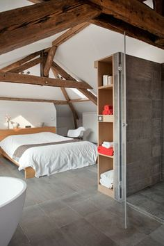 Loft Bedroom Design Ideas, Pictures, Remodel and Decor