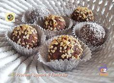 Tartufi di savoiardi al cioccolato ricetta