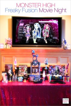 NEW ON MY BLOG:  Monster High's Freaky Fusion is the hottest new trend this year!  Check out how we celebrated the Freaky Fusion DVD release with... of course...a PARTY! #MonsterHigh #FreakyFusion