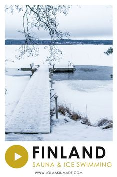 Looking for some of the best things to do during winter in Finland? Be sure not to miss visiting the area in and around Lahti, a region rich in Finnish culture and tradition. Be sure to add an unforgettable traditional Finnish sauna and ice swimming experience to your Finland bucket list. Practical tips and inspiring video and photography for your trip to Finland | Geotraveler's Niche Travel Blog #Finland #Lahti