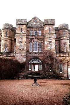 Seton Castle - East Lothian, Scotland - was built from 1789-1791
