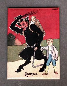 Krampus✖️More Pins Like This One At FOSTERGINGER @ Pinterest ✖️Fosterginger.Pinterest.Com.✖️No Pin Limits✖️