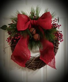40+ Christmas Wreaths Decoration Ideas