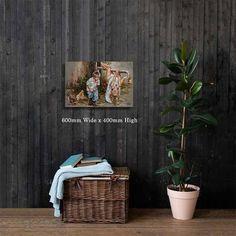 M19015 Jy is onderste bo! - House Of Maria ZA Redeeming Love, Landscape Artwork, Palm Tree Print, Beautiful Artwork, Canvas Art Prints, Canvas Size, Cotton Canvas, Original Artwork, Fine Art