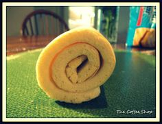 Lemon Curd Jelly Roll. Yes, This is heaven! The Coffee Shop: I'm Baking Friends! Yes, with a B!