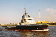 HAPPY HUNTER Bouwjaar 1978, imonummer 7708986, grt 861 Eigenaar Mammoet Transport N.V., Amsterdam  http://koopvaardij.blogspot.nl/2016/06/29-juni-2003.html