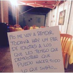 """""""No me voy a rendir... Todavía no."""" ️ @diario_de_un_escritor #escrito #Escritor #Escritos #poetas #poeta #writer #poetic #frases #frase #poema #poemas #libros #libro #palabras #palabrasdelalma #diaro #poesia #poesias #escritossad #accionpoetica #versos #verso #letras #letra #reflexion #motivacion #canciones #pensamientos #vida #momentos"""