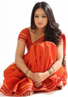 South Indian Actress Nikesha Patel Hip Navel In Transparent Red Saree Beautiful Girl Indian, Most Beautiful Indian Actress, Beautiful Saree, Gorgeous Women, Beautiful Kids, Beauty Full Girl, Beauty Women, Nikesha Patel, Et Tattoo