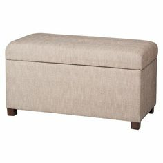 on sale for $80 right now, this bench is versatile enough to go in any room if you move things around later.  In a kid's room, it provides a lot of storage for big toys and has the bonus of ample space to play on top (board games, playing princesses, etc.)   (from Target.com: Herringbone Tan Double Storage Ottoman Bench)