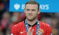 Manchester United striker Wayne Rooney became a father for the third time when his wife Coleen gave birth to the couple's third child — . Jack Black, Wayne Rooney Hair, Handsome Football Players, Just A Game, Manchester United, Premier League, The Unit, Facts, Baseball Cards