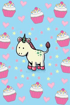 Imagen de cupcake, hearts, and pastel