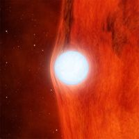 Kepler Watches White Dwarf Warp Spacetime: The Kepler space telescope's prime objective is to hunt for small worlds orbiting distant stars, but that doesn't mean it's not going to detect some extreme relativistic phenomena along the way. While monitoring a red dwarf star — designated KOI-256 — astronomers detected a dip in starlight in the Kepler data.