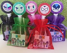 12 Teen Titans Birthday Party Favor Goody Bags Gift Robin Starfire Beast Boy Cyborg Box Treat Loot Candy Stickers Teen Titans http://www.amazon.com/dp/B010GF9YU0/ref=cm_sw_r_pi_dp_Zwsxwb1EWHTSV