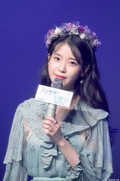 Iu Short Hair, Short Hair Styles, Scarlet Heart, Korean Beauty, Korean Singer, Girl Crushes, Idol, Drama, Flower Crowns