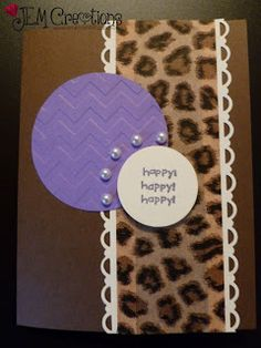J.E.M. Creations: Seize the Birthday #18  Birthday Card