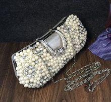 Frauen Silber/Schwarz/Gold Diamanten Strass Hochzeit Abendtaschen Frauen Luxus Braut Handtasche SMYCWL-C0025 //Price: $US $22.50 & FREE Shipping //     #dazzup