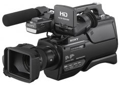 """Digital Camcorder with 26.8mm Sony G Lens, 12 x Optical Zoom, Optical SteadyShot, 1/4""""-type Exmor R CMOS Sensor, and Intelligent Auto Mode"""