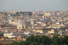 Vista dal Gianicolo.