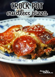Crock Pot Crustless Pizza