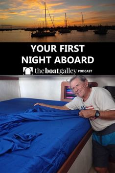 You're so excited -- time for your first night on the boat. Do you need to buy anything? Or can you just bring it all from home? Boat Storage, Camping Storage, Storage Ideas, Sailboat Living, Living On A Boat, Sailing Cruises, Sailing Trips, Boating Tips, Buy A Boat