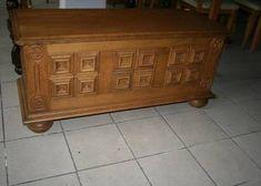 Skrzynia kufer dąb rustykalny Bench, Storage, Furniture, Home Decor, Purse Storage, Decoration Home, Room Decor, Larger, Home Furnishings