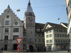 Zug, Switzerland, my family used to own Aklin restaurant on the right of the Zyturm (clock tower)