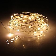 Decorative Indoor String Lights Simple Ledgle Led String Lights 75W Dimmable Copper Wire 495 Led Party Design Inspiration