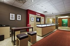 Our Cartier and Rolex boutiques in the Manhattan Store