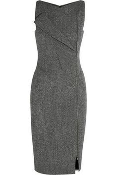 Jessica Pearson's Antonio Berardi Alpaca Blend Dress o#SuitsUSA #TVFashion