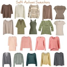 Soft Autumn Sweaters